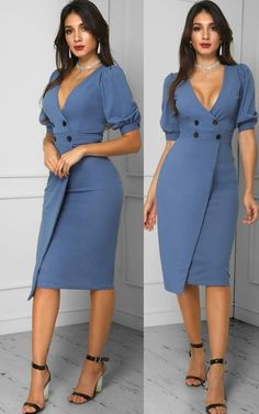 Beautiful Casual Dresses, Classy Dress, Trendy Dresses, Modest Dresses, Nice Dresses, Short Dresses, Fashion Dresses, Dresses For Work, Corporate Fashion