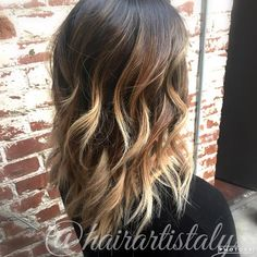 Brown to blonde balayage Hair by Aly Tompkins Mon Amie Salon Redlands CA
