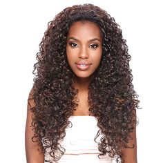 Synthetic Hair Half Wig Vanessa Express Super Weave Las Lobet