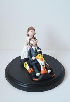 Laptop Computer Brautpaar Tortenfigur Fur Die Hochzeitstorte