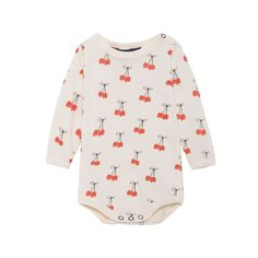 various sizes Ex Mini Boden Baby supersoft floral collar bodysuit