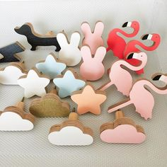 New arrival wall hooks, now available at www.knobbly.com.au