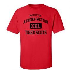 Athena-Weston High School - Athena, OR | Men's T-Shirts Start at $21.97