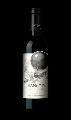 Sancte - Chianti Classico #tommasobovo #bovo #proftommasobovo #tuscany #label #labels #santo #wine #red #redwine #elephant #elephantman #elefante #stilovino#elefantino #etichetta #packaging #taninotanino