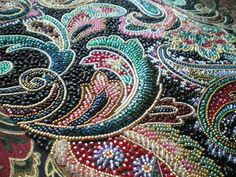 From Threads Across the Web - absolutely stunning bead embroidery!