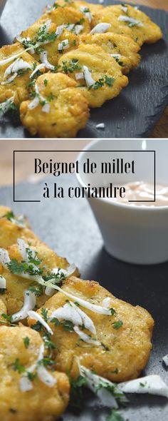 Découvrez ces beignets de millet à la coriandre pour une recette originale et savoureuse.