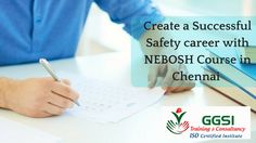 Enroll for NEBOSH safety course in Chennai from Green Global Safety institute, the well-reputed safety institute offers high quality training to the students.