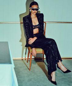 """Fatal Attraction"" Ellen Rosa photographed by Chris Colls for Porter Magazine #19 Spring 2017 Stylist: Morgan Pilcher Hair: Peter Gray Makeup: Georgi Sandev #inspiration #blog #blogger #tumblr #fashion #style #models #photography #vogue http://www.midnight-charm.com/"