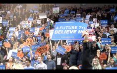 "It's a Revolution | Bernie Sanders | Published Apr 1, 2016 | https://youtu.be/ocwVHGbYb3c | ""Day in and day out, from sun up to sun down, volunteers and supporters all across this country have powered this political revolution. For that, we thank you."" Click to watch and share video (1:00)."