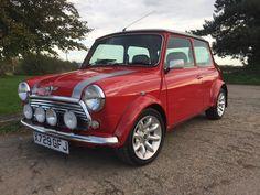 eBay: 2001 Rover Classic Mini Cooper Sport S - Solar Red & Silver - 25K Miles #classicmini #mini