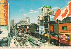 Eaton's on Yonge St., 1970s