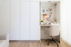 office hallway. 3 Incredible Home Office Makeovers - Front + Main : Office Hallway