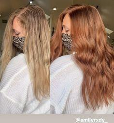 Ginger Hair Color, Hair Color And Cut, Ginger Hair Dyed, Strawberry Red Hair, Amber Hair, Hair Color Auburn, Aesthetic Hair, Balayage Hair, Dyed Hair