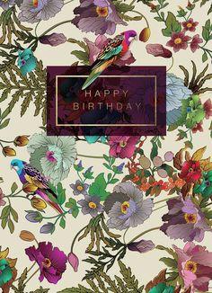 Filter Results: Art licensing View your Lightbox Lara Happy Birthday Flower, Happy Birthday Quotes, Happy Birthday Images, Happy Birthday Greetings, Birthday Love, Vintage Birthday, Birthday Messages, Friend Birthday, Birthday Cards