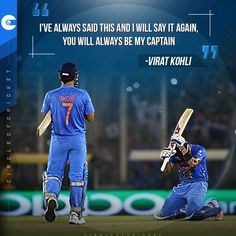 What would we give to watch Virat Kohli and MS Dhoni bat together in blue again?