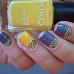 Beautiful summer nails, Bright summer nails, Bubble nails, Cheerful nails, Funny nails, Julynails, Polka dot nails, Summer nails 2016