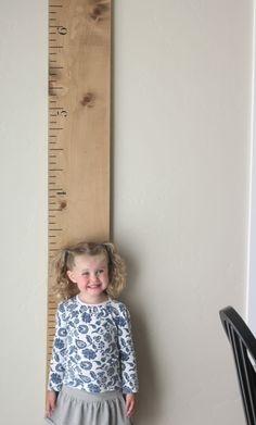 Lily & Thistle: Ruler Growth Chart