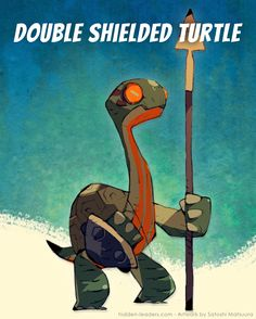 »The turtles rarely go to war. But when they do, their warriors are the most persistent of all. This turtle soldier bears the shield of its ancestors and will never bring shame upon them.« #HiddenLeaders #gamedesign #gameart #characterart #characterdesign #boardgames #boardgame #boardgamesofinstagram #monsterdesign #art #creaturedesign #boardgamegeek Board Game Geek, Board Games, Character Art, Character Design, Water People, Monster Design, Creature Design, Goblin, Game Design