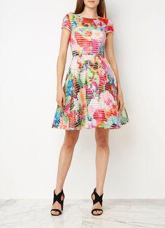 Ted Baker Dolci A-lijn jurk met bloemenprint • de Bijenkorf
