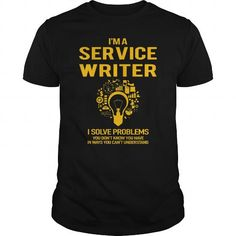 Awesome Tee  Service Writer Shirt; Tee
