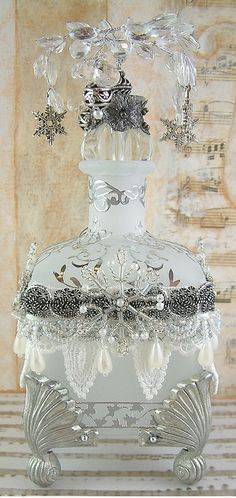 Altered Frosted Bottle | Flickr: Intercambio de fotos
