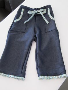 Oliver + S Sandbox pants with frills