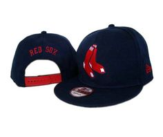 New Era MLB Boston Red Sox Navy Snapback Hats Caps 3257! Only $7.90USD