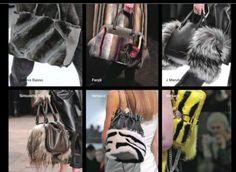 Bolsos de Piel... y con piel, tendencia para este invierno. #bolsodepiel #leatherhandbag #leather