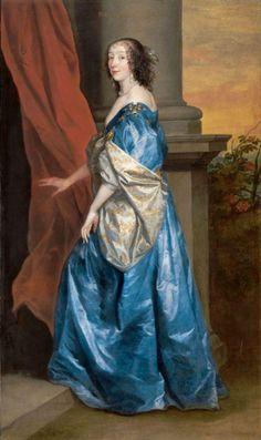 1637 Lucy Percy, Countess of Carlisle by Sir Anthonis van Dyck (Tate Collection, London) | Grand Ladies | gogm