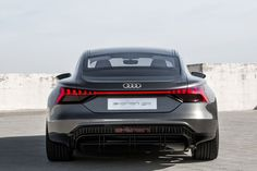 Audi has aimed its guns squarely at the tesla model s with its close-to-production e-tron gt concept that it just unveiled at the 2018 la auto show. Porsche Electric Car, Electric Sports Car, Porsche Taycan, Electric Vehicle, Range Rover Evoque, Range Rover Sport, Audi A8, Audi Quattro, Sports Car Wallpaper