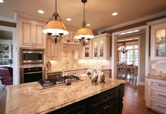 Kitchen design ideas and inspirational photos of cabinets for kitchens custom by Walker Woodworking, servicing, Shelby, Gastonia, Charlotte, Asheville, NC