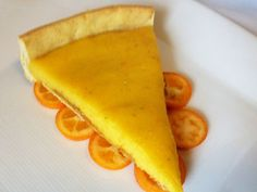 Kumquat tart / Serious eats - haven't done anything with kumquats yet... I should!
