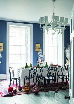 Stiffkey Blue by Farrow & Ball - dining room color