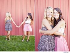 best friends senior session (or God-Sisters?or Sisters) Just sayin!