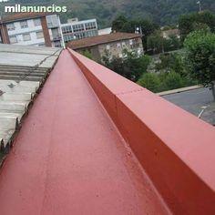 . Mantenimientos de todo tipo de cubiertas canales cerramientos eliminaci�n de goteras impermeabilizaciones panel samwilh policarbonatos