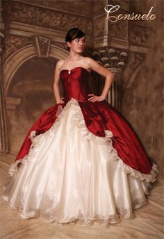 This is a gown by Victorian Rose Couture, vrcouture.com, Quinceanera dresses, Victorian modern gown. www.vrcouture.com