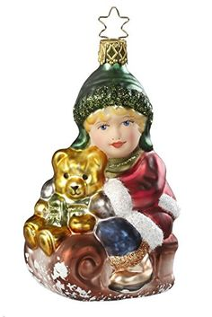 Happy Day, Ornament from the Innocent Hearts Collection by Inge-Glas