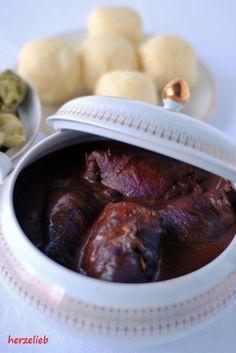 herzelieb: Rinderrouladen - mein Rezept für den Klassiker aus Muttis Küche