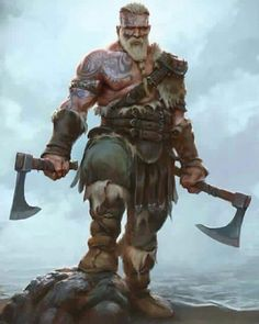 This store created for those person who love vikings. And if you are a viking lover then you can make order for a viking t shirt. Fantasy Warrior, Fantasy Rpg, Medieval Fantasy, Fantasy Artwork, Dark Fantasy, Viking Warrior, Viking Axe, Dnd Characters, Fantasy Characters