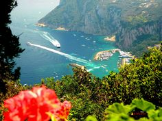 Villa San Michele-Anacapri, panorama Capri port, Nikon Coolpix L310, 15.1mm,1/80,ISO80,f/4.2,+0.7 polar 201507151157