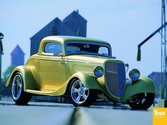 1934 Ford 3-window Street Rod
