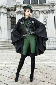 20 Slytherin Inspired Clothes And Accessories For Teen Girls Fashiotopia is part of Fantasy clothing Excellent, Dudley,& explained Uncle Vernon Carter resisted the impulse to smirk Arnold was no - Cool Outfits, Fashion Outfits, Fashion Trends, Fantasy Costumes, Steampunk Fashion, Steampunk Outfits, Steampunk Hat, Victorian Fashion, Steampunk Couture
