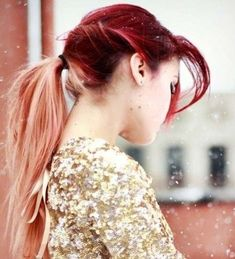 15 Cute ideas of Ombre Hair for Ponytail