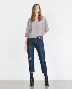 BATWING SWEATER-Sweaters-Knitwear-WOMAN   ZARA United States