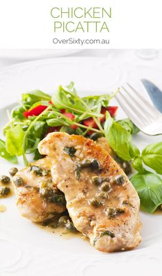 Chicken Picatta - make this Italian recipe with chicken instead of veal and you've got a truly versatile dinner option.