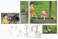My Neighbor Totoro | Hayao Miyazaki | Studio Ghibli / Kusakabe Satsuki and Kusakabe Mei