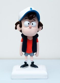 I like to sculpt, sew, draw, read and watch movies and tv-shows. Cute Polymer Clay, Polymer Clay Dolls, Polymer Clay Creations, Polymer Clay Crafts, 3d Model Character, Kid Character, Clay Animation, Qhd Wallpaper, Gravity Falls Dipper