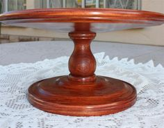 Woodworkers Institute - Forums: Cake stand