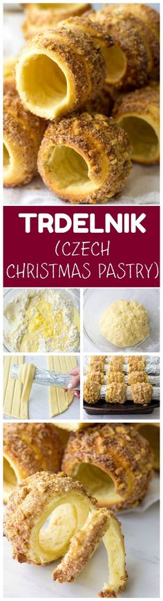 czech recipes Are you looking for fancy dessert recipes? Try Homemade Trdelnik. It's a traditional Czech walnut-cinnamon pastry that is crispy and delicious. Trdelnik is one of the most Brownie Desserts, Fancy Desserts, Christmas Desserts, Delicious Desserts, Creative Desserts, Coconut Dessert, Oreo Dessert, Cookie Recipes, Dessert Recipes