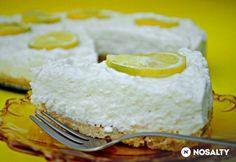 Sütés nélküli citromtorta My Recipes, Cake Recipes, Dessert Recipes, Cooking Recipes, Favorite Recipes, Recipies, Yummy Drinks, Yummy Food, Cold Desserts